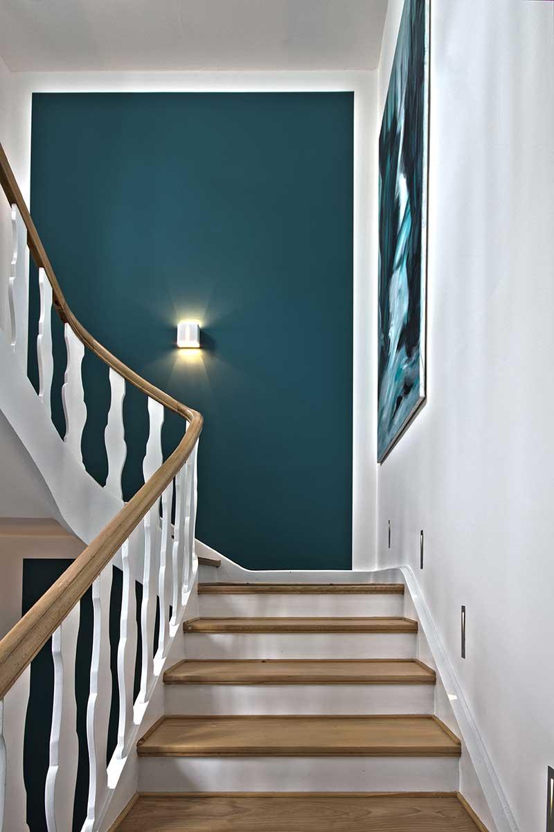 vorher nachher umgestaltung eines treppenhauses in krefeld. Black Bedroom Furniture Sets. Home Design Ideas