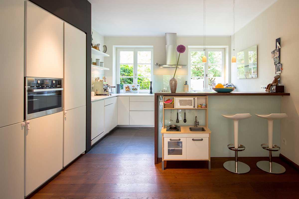 Arbeitsbeispiel: Küchenplanung in Krefeld - Innenarchitektur ...