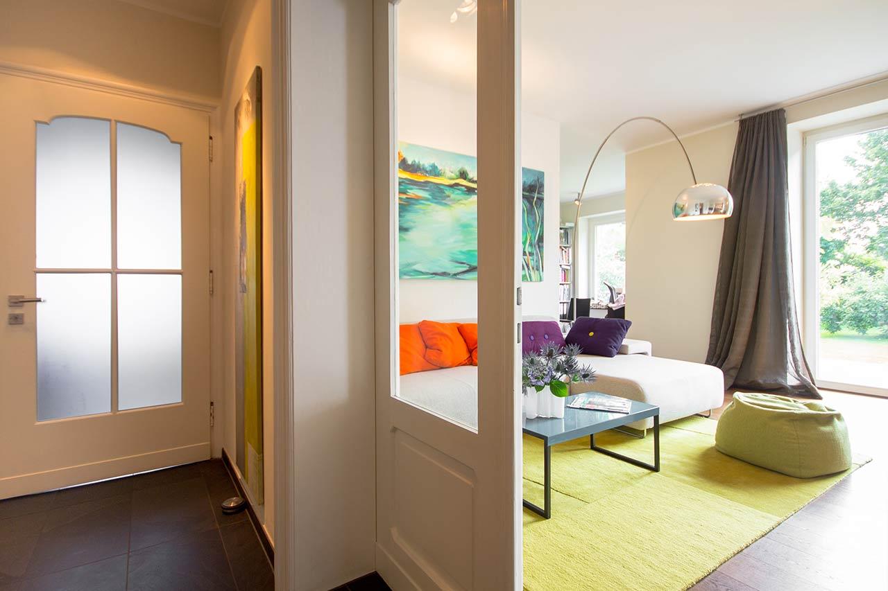 Arbeitsbeispiel Gestaltung Wohnzimmer - Innenarchitektur Lichters Living