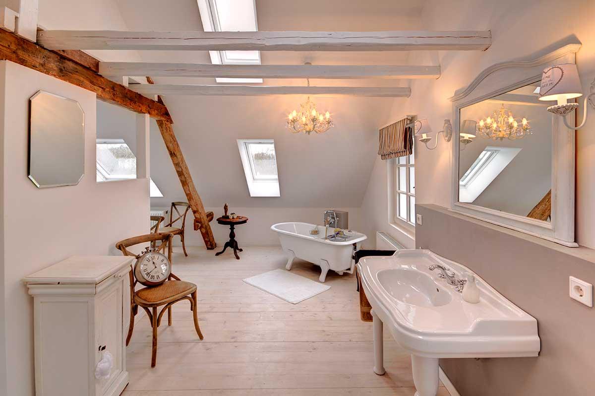 Badplanung von Vintage Badezimmer - Innenarchitektur Lichters Living
